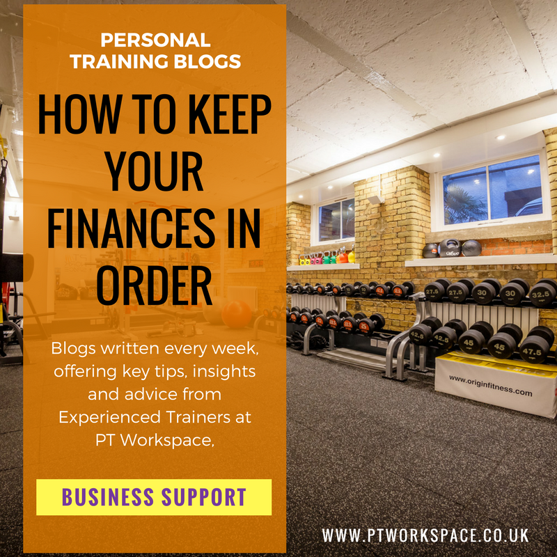 How to keep your Personal Training Finances in order