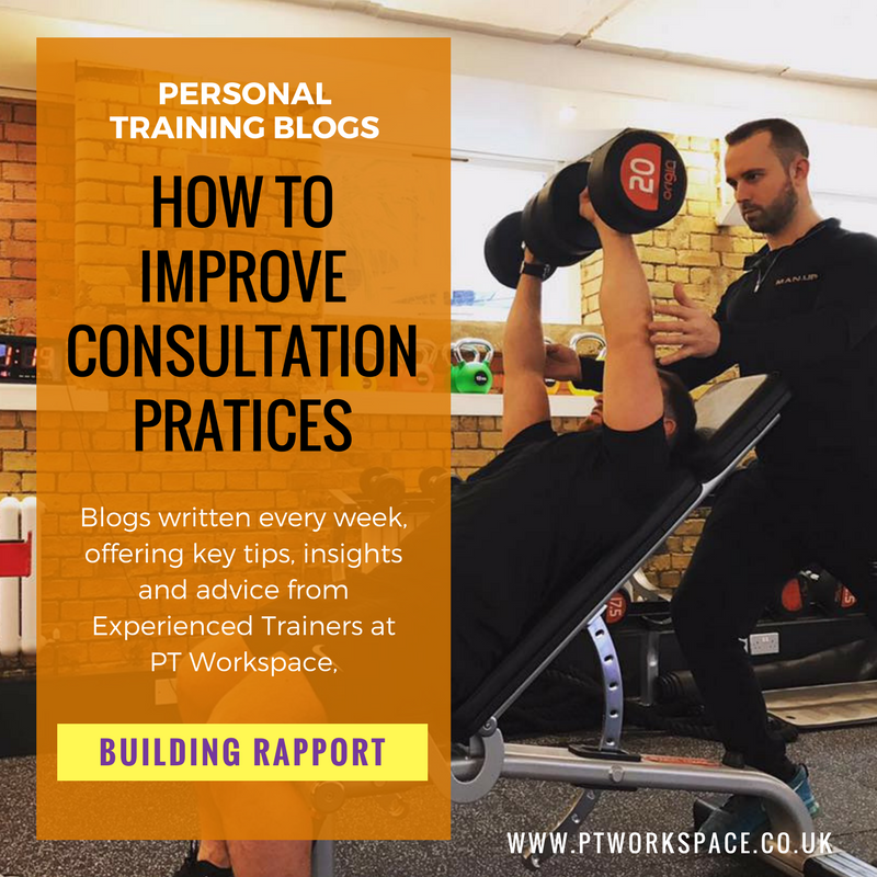 How to improve Personal Training Consultations