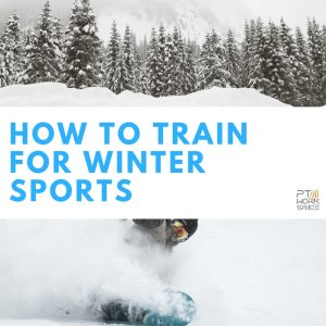 winter sports - How to train