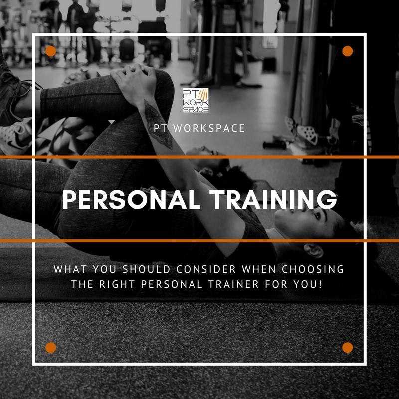 Finding the right personal trainer for you