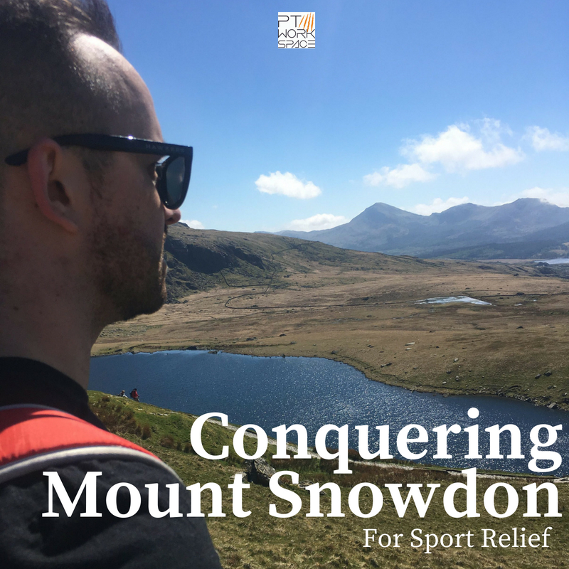 Conquering Mount Snowdon