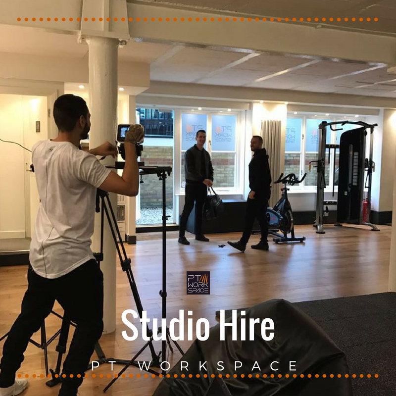 Studio Hire at PT Workspace