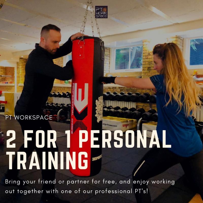 2 for 1 Personal Training Islington