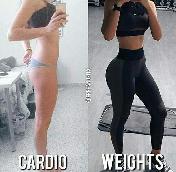 Cardio vs Weight Training