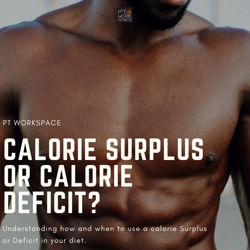 Understanding How and When to use Calorie Surplus & Calorie Deficit?