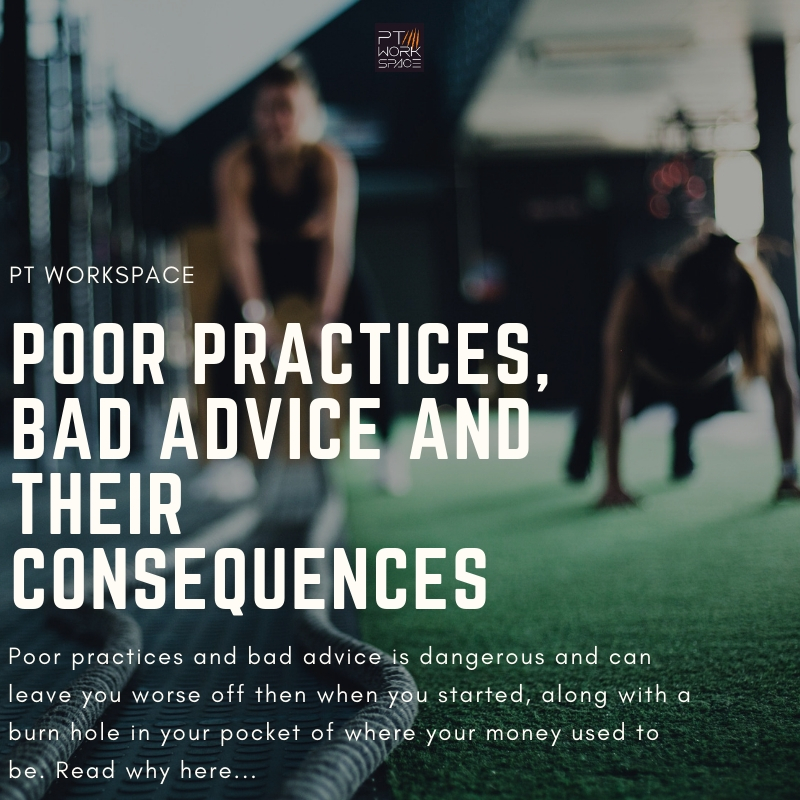 Poor Practices, Bad Advice and their Consequences