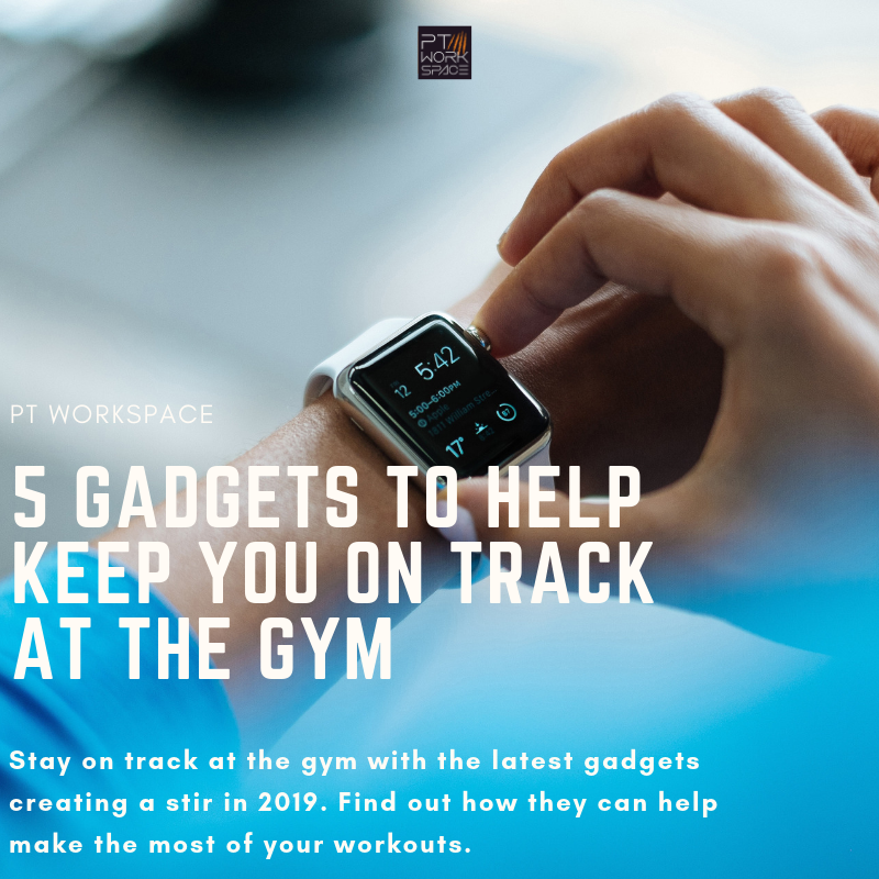 5 Gadgets to Help Keep You on Track at the Gym