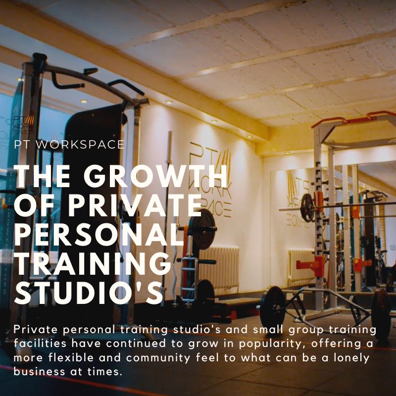 The Growth of Private Personal Training Studio's